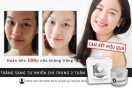 Review kem dưỡng trắng da mặt Medi White sau 2 tuần sử dụng